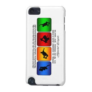 Coque iPod Touch 5G Skateboarding frais c'est un mode de vie
