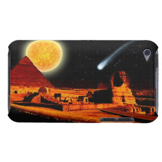 Coque iPod Touch Art égyptien antique de pyramide, de Sun, de