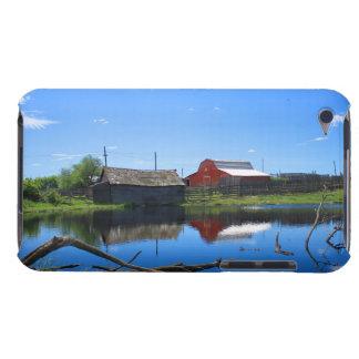 Coque iPod Touch Case-Mate Bâtiments et étang de ferme