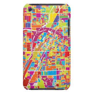 Coque iPod Touch Case-Mate Carte de Las Vegas coloré, Nevada