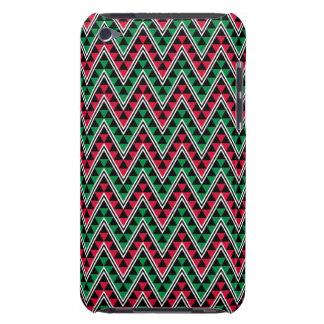 Coque iPod Touch Case-Mate Copie géométrique africaine de Kwanzaa - Chevron