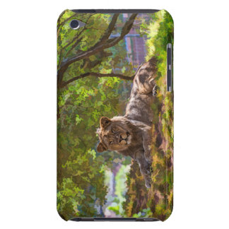 COQUE iPod TOUCH  LION MAJESTUEUX
