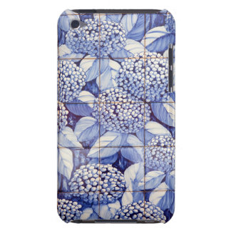 Coque iPod Touch Tuiles florales