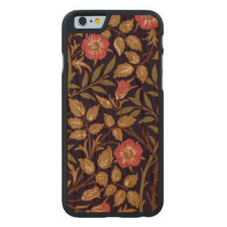 Coque Mince En Cerisier iPhone 6 Art floral Nouveau de Briar doux de William Morris
