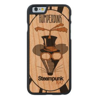 Coque Mince En Cerisier iPhone 6 Rat de Steampunk