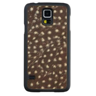 Coque Mince En Érable Galaxy S5 Guineafowl a repéré l'abrégé sur plume