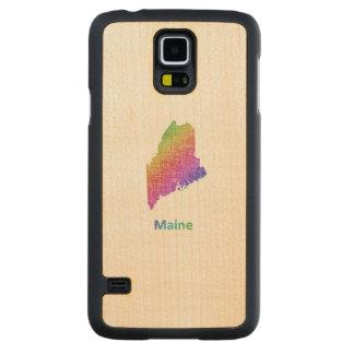 Coque Mince En Érable Galaxy S5 Le Maine