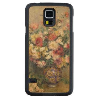 Coque Mince En Érable Galaxy S5 Pierre dahlias de Renoir un  