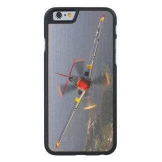Coque Mince En Érable iPhone 6 Chasseurs du mustang P-51