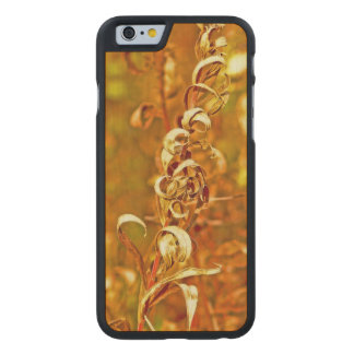 "COQUE MINCE EN ÉRABLE iPhone 6 ENJOLIVURES"" /PHOTOG. ""DE PLANTE"