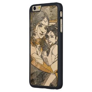 Coque Mince En Érable iPhone 6 Plus Krishna et Yashoda - caisse en bois de cerise de