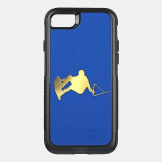 Coque OtterBox Commuter iPhone 8/7 Caisse d'or de téléphone d'OtterBox de Wakeboarder