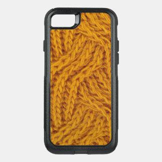 Coque OtterBox Commuter iPhone 8/7 Fil jaune tricoté