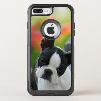 Coque OtterBox Commuter iPhone 8 Plus/7 Plus Photo mignonne d'animal familier de chiot de chien