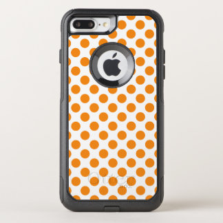Coque OtterBox Commuter iPhone 8 Plus/7 Plus Pois orange
