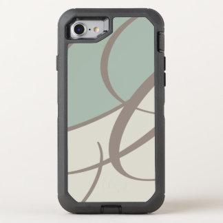 Coque OtterBox Defender iPhone 8/7 Art abstrait moderne