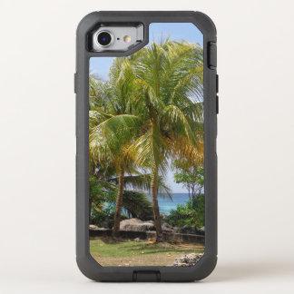 Coque OtterBox Defender iPhone 8/7 Cas de l'iPhone 7 de palmier