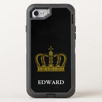 Coque OtterBox Defender iPhone 8/7 Couronne royale d'or I + votre backgr. et idées