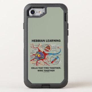 Coque OtterBox Defender iPhone 8/7 Hebbian apprenant le feu de cellules câblent
