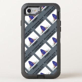 Coque OtterBox Defender iPhone 8/7 Humour intérieur statistiquement sûr de courbe de