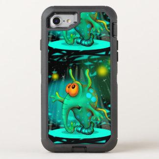 Coque OtterBox Defender iPhone 8/7 iPhone 7 DS d'Apple de BANDE DESSINÉE de l'ALIEN 2