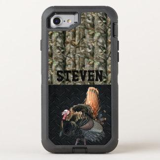 Coque OtterBox Defender iPhone 8/7 La chasse de Camo Turquie a personnalisé la caisse