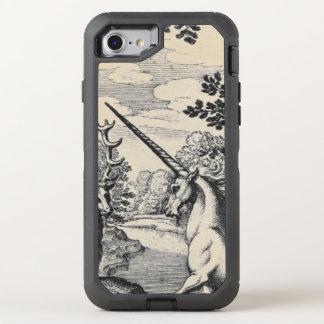 Coque OtterBox Defender iPhone 8/7 Licorne dans la forêt