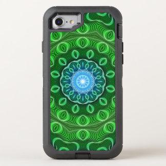 Coque OtterBox Defender iPhone 8/7 Mandala de croissance de cellules