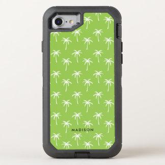 Coque OtterBox Defender iPhone 8/7 Palmiers verts mignons