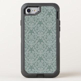 Coque OtterBox Defender iPhone 8/7 Papier peint floral vert
