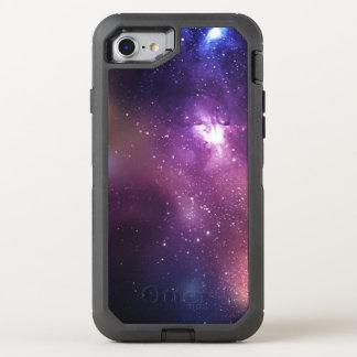 Coque OtterBox Defender iPhone 8/7 Pourpre et galaxie et étoiles de marine