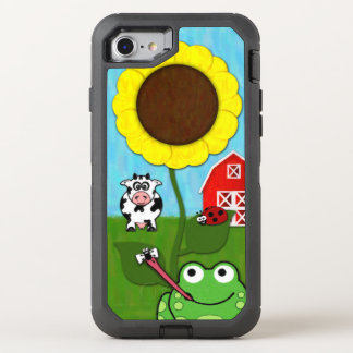Coque OtterBox Defender iPhone 8/7 Printemps à la ferme
