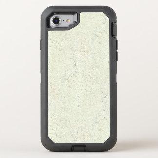 Coque OtterBox Defender iPhone 8/7 Regard du bois de grain de liège blanc de brume