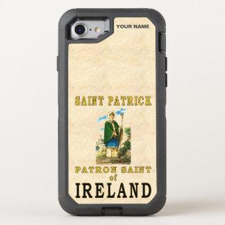 Coque OtterBox Defender iPhone 8/7 SAINT PATRICK (saint patron de l'Irlande)