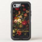 Coque OtterBox Defender iPhone 8/7 Vase floral vintage élégant