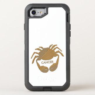 Coque OtterBox Defender iPhone 8/7 Zodiaque de crabe de Cancer