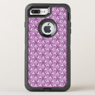 Coque OtterBox Defender iPhone 8 Plus/7 Plus Beau motif vintage floral