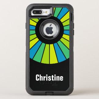 Coque OtterBox Defender iPhone 8 Plus/7 Plus Cadre rond 22 de rayons + votre backgr. et idées