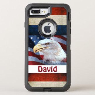 Coque OtterBox Defender iPhone 8 Plus/7 Plus Cas/Eagle de l'iPhone 6/6s de défenseur d'OtterBox