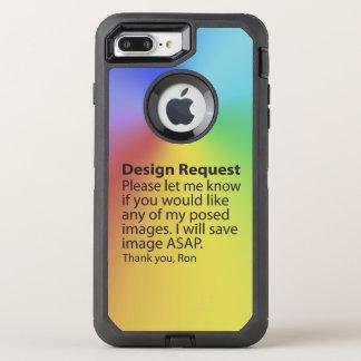 Coque OtterBox Defender iPhone 8 Plus/7 Plus Demande de conception
