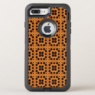 Coque OtterBox Defender iPhone 8 Plus/7 Plus Motif d'or de nid d'abeilles