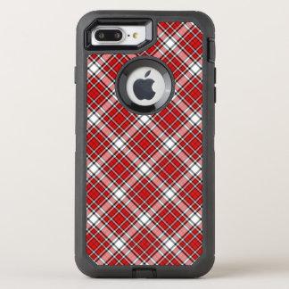 Coque OtterBox Defender iPhone 8 Plus/7 Plus Rayures de cas/plaid de l'iPhone 6/6s de défenseur