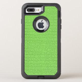 Coque OtterBox Defender iPhone 8 Plus/7 Plus Regard vert pomme de maille d'armure