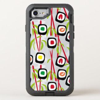 Coque Otterbox Defender Pour iPhone 7 Arrière - plan de sushi