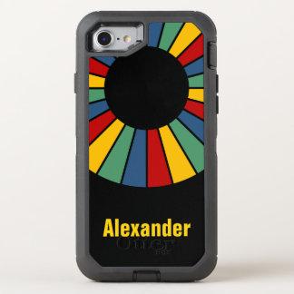 Coque Otterbox Defender Pour iPhone 7 Cadre rond 01 de rayons + votre backgr. et idées
