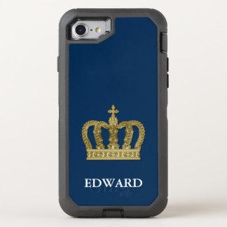 Coque Otterbox Defender Pour iPhone 7 Couronne royale d'or II + votre backgr. et idées