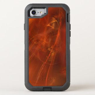 Coque Otterbox Defender Pour iPhone 7 Fractale de royaume de rouille