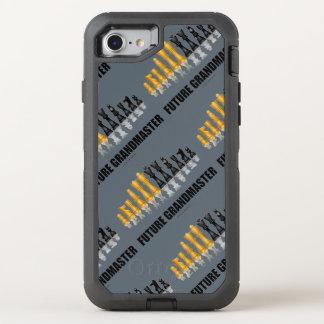 Coque Otterbox Defender Pour iPhone 7 Jeu d'échecs réfléchi de futur grand maître