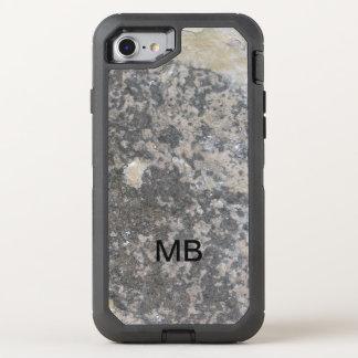 Coque Otterbox Defender Pour iPhone 7 Le regard en pierre des hommes de monogramme