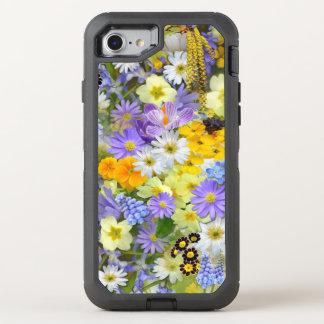 Coque Otterbox Defender Pour iPhone 7 Le ressort fleurit l'iPhone 8/7 cas de défenseur